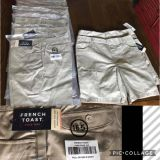 9 shorts 3 pants and 4 skirts all size 16.5 girls