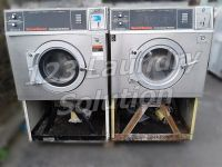 Good Condition Speed Queen Front Load Washer Super II | 20 25LB Capacity Stainless Steel AS-IS