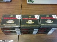 For Sale: 15 boxes (75 rounds) Winchester Partition Gold 20 Gauge Slugs