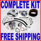 Sell S&S SUPER E CARB CARBURETOR KIT 1957-1978 HARLEY SPORTSTER IRONHEAD XL 11-0404 motorcycle in Zieglerville, Pennsylvania, US, for US $518.95