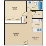 $735 1 apartment in Clermont County