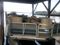 Suntracker pontoon boat for sale