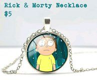 Rick & Morty Necklace