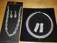 New necklace and earrings. 10.00 each set