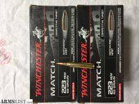 For Sale: Winchester 223 Match 69 grain