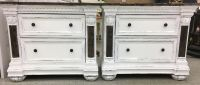Marble End Tables or Nightstands $85 each of $150 for pair
