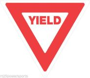 Find Trail Sign 12'' x 12'' Reflective .050 Plastic Yield Sign ATV Snowmobile motorcycle in Monroe, Connecticut, US, for US $4.95