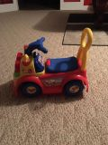 Little People Ride and Learn truck