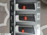 For Sale: NIB - (3) Glock 19 15RD Magazines