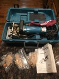 Wood biscuit jointer