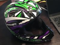 HJC Youth (M) Motorcycle/ATV Full Face Helmet
