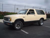 Find 1985 Chevrolet S-10 Blazer (2WD) motorcycle in Newport Beach, California, United States, for US $5,500.00