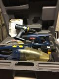 Ryobi tools with booklet