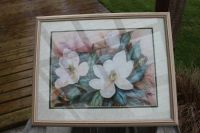 FLOWER PRINT AND FRAME