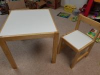 Table and chair - toddler sized