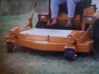 "NEW Woods / Grasshopper 50"" Shaft Driven Front Mount Deck With Blower"
