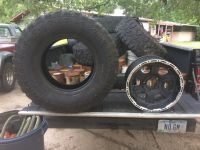 """Chevy rims 5 lug, 17"""" set of 4 with tires or not"""