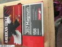 For Sale: 357 magnum ammo