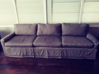 Last day of Moving Sale: Down Feather Sofa