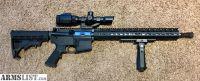 For Sale/Trade: Custom AR-15 rifle with Heavy Barrel