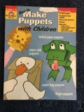 How to make puppets including alphabet finger puppets