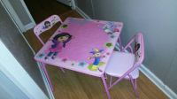 LITTLE GIRLS DORA TABLE AND CHAIRS  (lake charles)