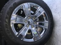 20 GMC/Chevy Truck Chrome Rims & Tires