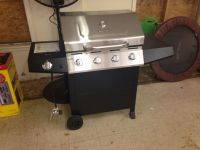 New Stainless Steel BBQ Grill