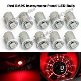 Find 10x Red BA9S 1815 1895 LED Instrument Panel Gauge Cluster Dash Light Bulb 12V motorcycle in Milpitas, California, United States