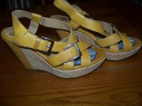 "Women's Leather Strap Wedges by ""Sofft"""