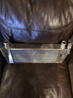 High end polished heat exchanger