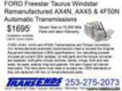 FORD Taurus Windstar Freestar Rebuilt AXN AXS FN AXODE A