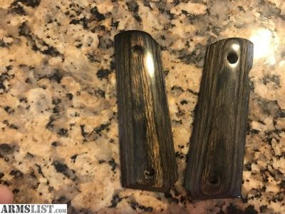 For Sale: 1911 grips wood