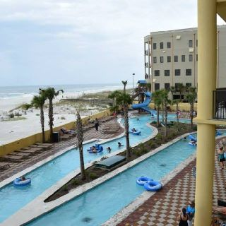 Luxury Condo- Orange Beach, AL Lazy River on the Beach