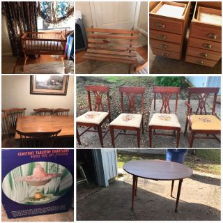 DOLL FURNITURE ECT. Each item is priced separately please read description
