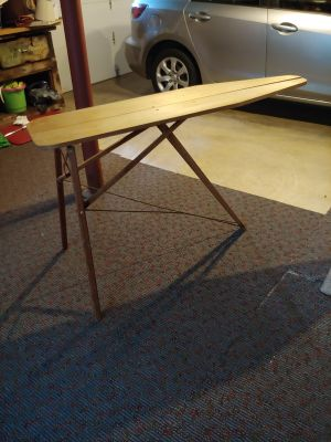 Vintage/ Anique Wooden Ironing Board