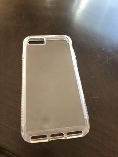 Clear IPhone case.