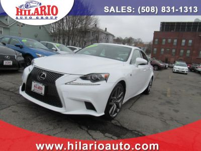 2016 Lexus IS ort (Ultra White)