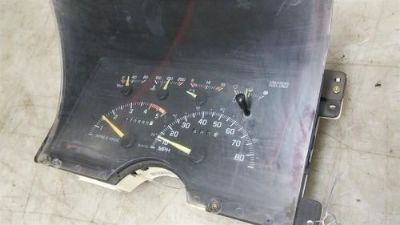 Purchase SPEEDOMETER GASOLINE ID 16193705 CLUSTER FITS 94 BLAZER/JIMMY (full size) motorcycle in Spokane, Washington, United States, for US $88.96