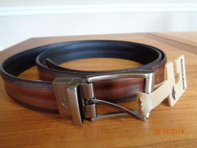 Man Leather Belt