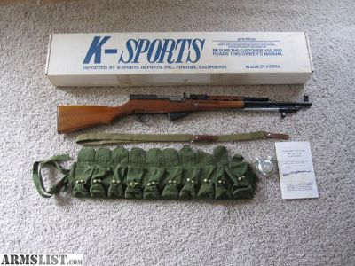 For Sale: SKS, Chinese SKS56, new in box with accessories