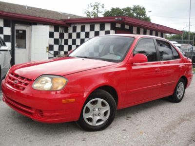 2005 Hyundai Accent GLS (RED)