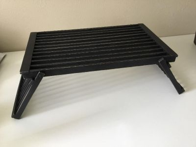 Never used! Rustic Black Matte Serving/Breakfast Tray