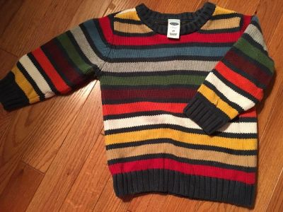 Old Navy multi colored sweater (semi-thick) 3T