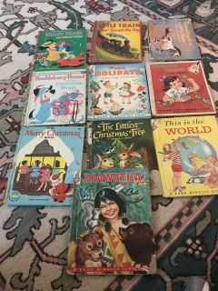 Lot of vintage children s books from 1950 s and 60 s