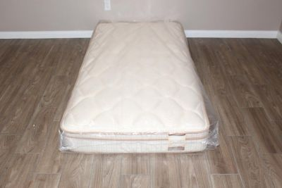 Twin Size Mattress- Brigham Collection Galileo- Euro top