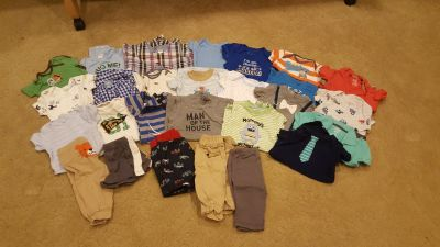 Boys 3-6 months clothing