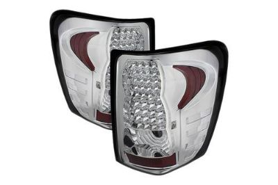 Buy Spyder ALTJHJGC99C Chrome Euro Tail Lights Rear Stop Lamps w LEDs 2 Pcs 1 Pair motorcycle in Rowland Heights, California, US, for US $173.10