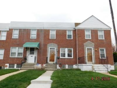 2 Bed 1 Bath Foreclosure Property in Baltimore, MD 21213 - Lyndale Ave