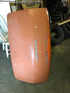 Early Fastback decklid 66-69